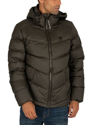 G-Star Whistler Down Puffer Jacket - Asfalt
