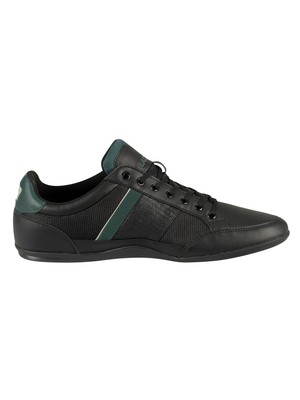 Lacoste Chaymon 319 3 CMA Trainers - Black /Dark Green