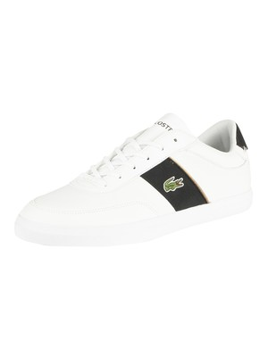 Lacoste Court Master 319 6 CMA Leather Trainers - White/Black