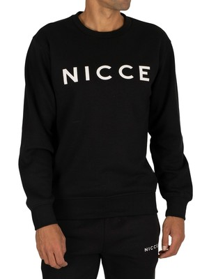 Nicce Original Logo Sweatshirt - Black