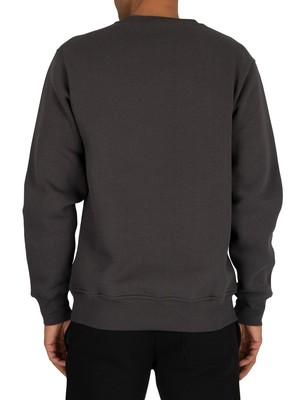 Nicce Original Logo Sweatshirt - Coal