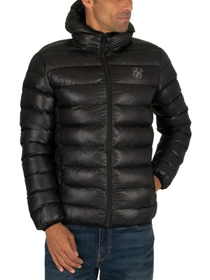 Sik Silk Atmosphere Puffer Jacket - Black