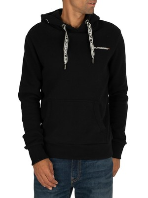 Superdry Urban Athletic Pullover Hoodie - Black