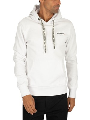 Superdry Urban Athletic Pullover Hoodie - Optic