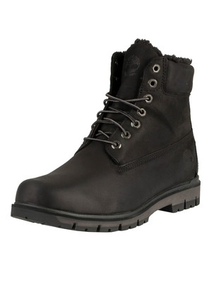 Timberland Radford Warm lined Leather Boots - Black Nubuck