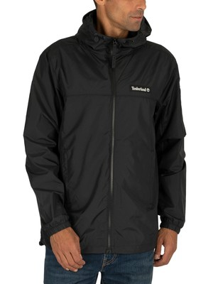 Timberland Zipped Windbreaker Jacket - Black