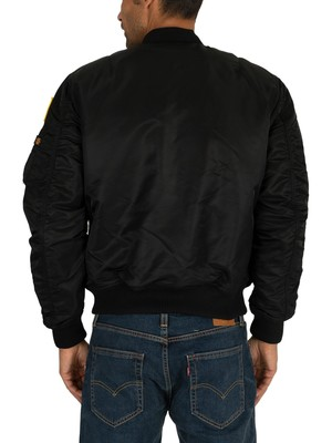 Alpha Industries NASA Bomber Jacket - Black