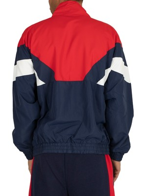 Fila Katya Colour Block Jacket - Peacoat/Red/White