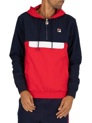 Fila Macker Colour Block Jacket - Peacoat/Red/White