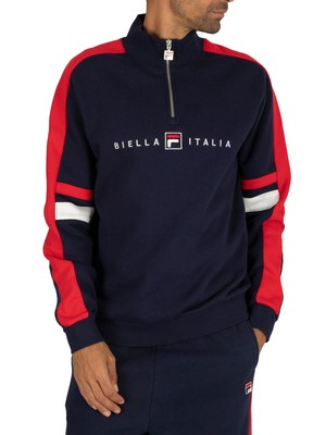 Fila Romolo Graphic Track Jacket - Peacoat