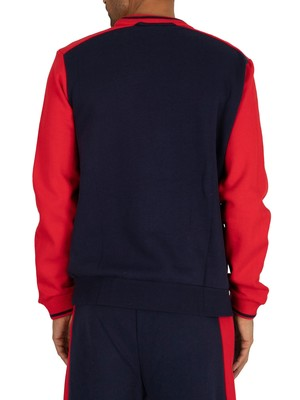 Fila Ventura Graphic Sweatshirt - Peacoat