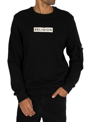 Religion Cadet Sweatshirt - Black