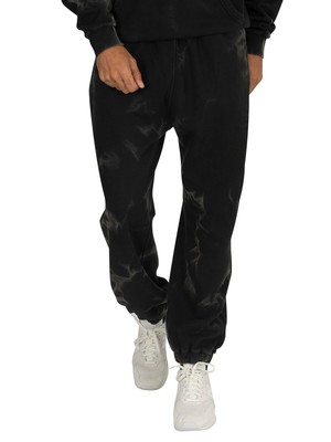 Religion Cracked Joggers - Black