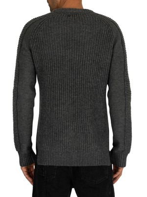 Religion Harley Knit - Charcoal