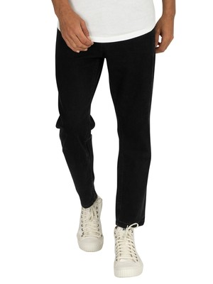 Religion Kick Jeans - Jet Black