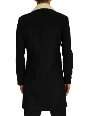 Religion Limit Coat - Black/Off White