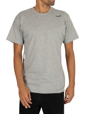 Religion Plain T-Shirt - Grey Marl