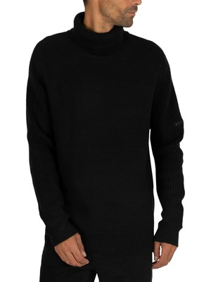 Religion Super Roll Knit - Black