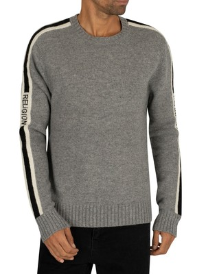 Religion Tone Knit - Grey/Black