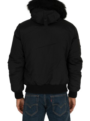 Superdry Everest Bomber Jacket - Jet Black