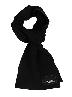 Superdry Orange Label Scarf - Black