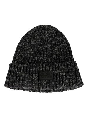 Superdry Upstate Beanie - Lead Grey Twist