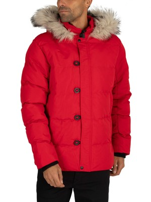 4Bidden Lightning Parka Jacket - Red