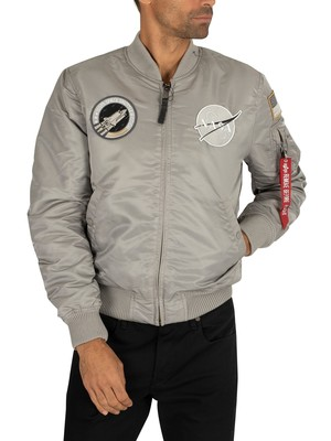 Alpha Industries MA-1 NASA Jacket - Silver