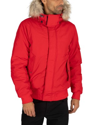 Tommy Jeans Tech Bomber Jacket - Racing Red