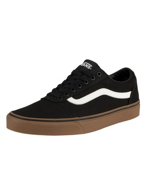 Vans Ward Canvas Trainers - Black/Gum
