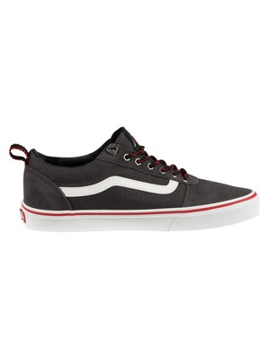 Vans Ward Outdoor Trainers - Obsidian/White