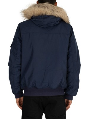 Tommy Jeans Tech Bomber Jacket - Black Iris Navy