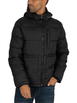 Champion Puffer Jacket - Black