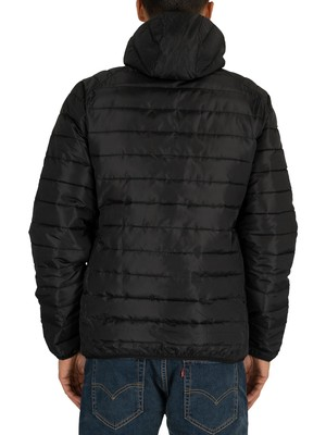 Fila Pavo Quilted Jacket - Black