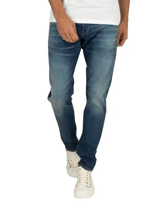 G-Star 3301 Slim Jeans - Worker Blue Faded