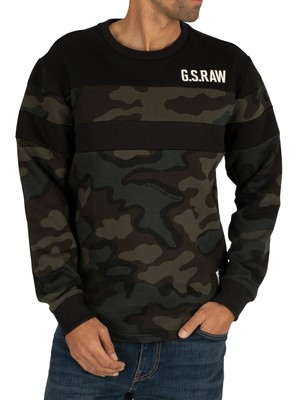 G-Star Graphic Sweatshirt - Combat/Fearn