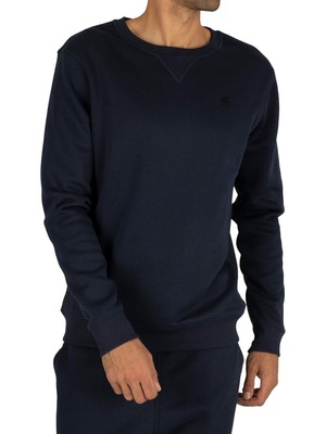 G-Star Premium Core Sweatshirt - Sartho Blue