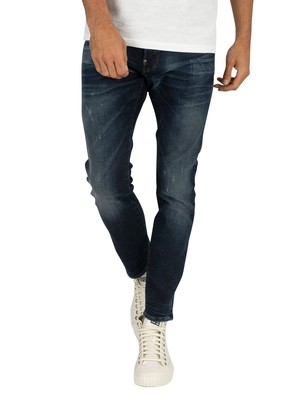 G-Star Revend Skinny Jeans - Worn In Wave Destroyed