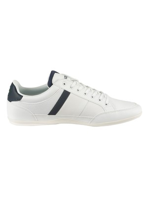 Lacoste Chaymon 319 3 CMA Trainers - White/Navy