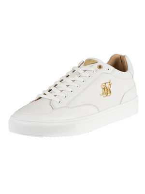 Sik Silk Phantom Lux Leather Trainers - White