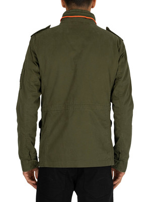 Superdry Classic Rookie 4 Pocket Jacket - Deep Depths