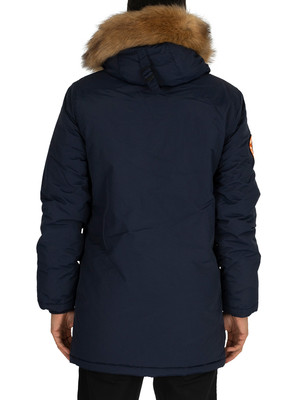 Superdry Everest Parka Jacket - Nautical Navy