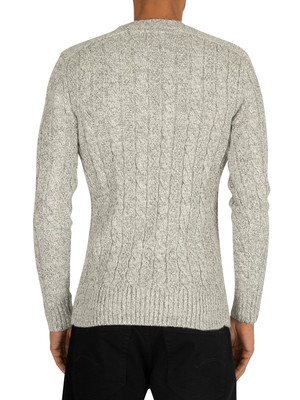 Superdry Jacob Knit - Concrete Twist