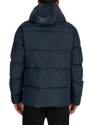 Tommy Hilfiger Hooded Bomber Jacket - Navy Blazer