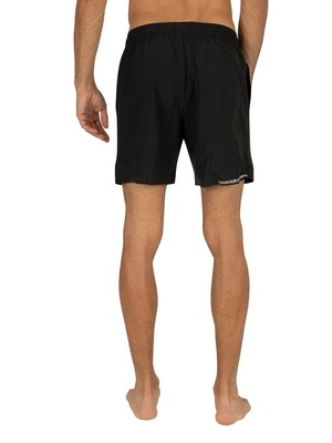 Calvin Klein Medium Drawstring Swimshorts - Black