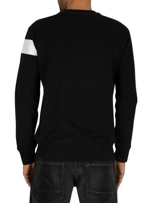 G-Star Graphic Sweatshirt - Black