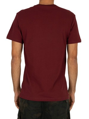 G-Star Rodis Block T-Shirt - Port Red