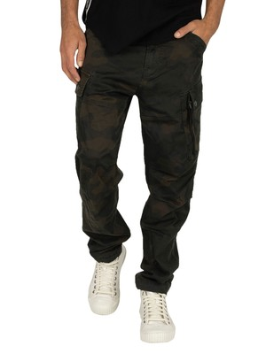 G-Star Roxic Straight Tapered Cargos - Dark Combat/Fearn