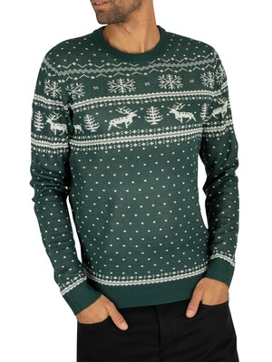 Jack & Jones Bells Knit - Sea Moss
