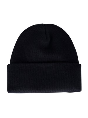 Levi's Big Box Tab Beanie - Navy Blue